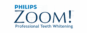 Phillips Zoom Teeth whitening Logo Hitchin Dentist